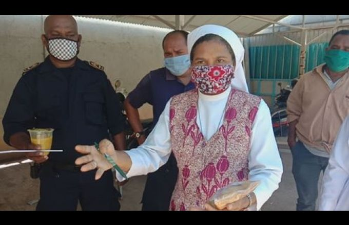 Madre CIJ Fahe Ai-Moruk ba Seguransa no Jornalista